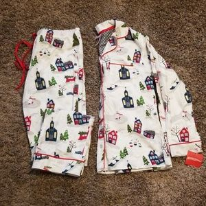 BRAND NEW Ladies Pajama Set Almond Cream Size XS
